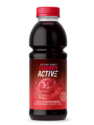 Active Edge Cheery Active 100% Concentrated Montmorency Cherry Juice 473ml