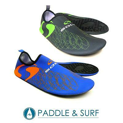Sola Active Sole Shoes Water Aqua Beach Kids Ladies Mens Leisure Lightweight