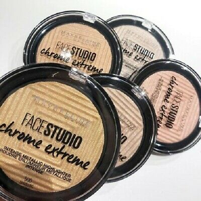 MAYBELLINE Face Studio Chrome Extreme Metallic Highlighter 6g - various shades
