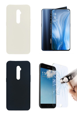"""PT Case Cover Gel TPU Silicone Oppo Reno 10x Zoom (4G) 6.6"""" + Optional Protector"""