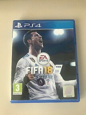 FIFA 18 playstation 4 ps4 EA Sports
