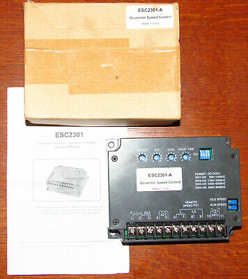 REPLACEMENT FOR CUMMINS Speed Controller EFC3044196 12-24V Generator
