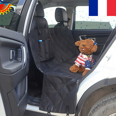 Dog Car Seat Covers Pet Seat Cover for Back Seat with Seat Anchors for Cars