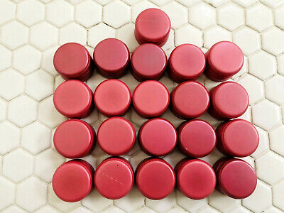 23 Lot HOME WINE Bottle Caps Lid Screw Aluminum Tops Red / PINK Crafts Winery