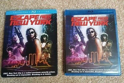 Escape From New York Bluray - Scream / Shout Factory edition with slipcover