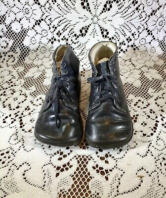 Antique Childrens Leather Shoes