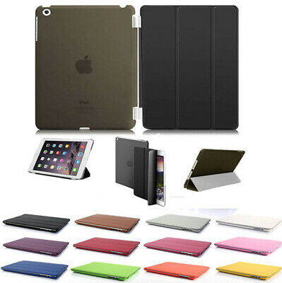 Smart Stand Folding Case Cover for Apple iPad Air, Air2, Mini, 5/6th Generation