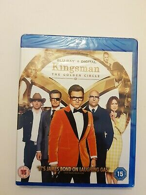 Kingsman: The Golden Circle [Blu-ray + Digital HD] (Blu-ray)