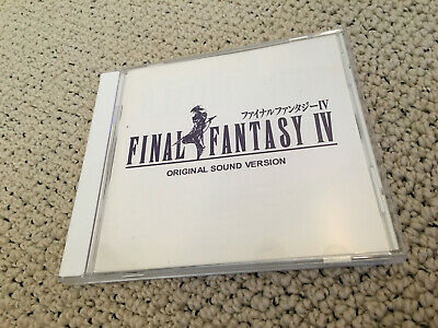 FINAL FANTASY IV 4 GAME OST SOUNDTRACK ever anime RECORDS