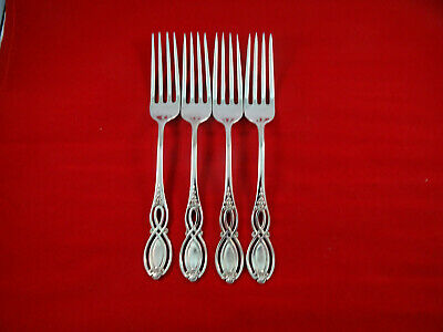 "ALVIN Sterling CHIPPENDALE-OLD 7 1/8"" Dinner Fork No Mono"