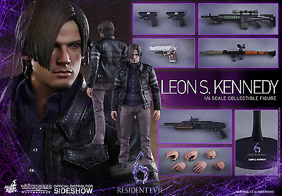 1//6 Hot Toys Resident Evil 6 Leon Kennedy Lightning Hawk Pistol *TOY Figure Size