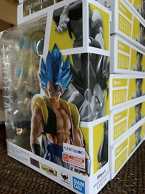 S.H.Figuarts Super Saiyan God Gogeta Dragon Ball Broly Bandai Figure IN STOCK