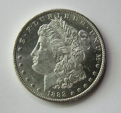 "Rare 1888-O Morgan Silver Dollar Full Feathers DMPL Frost ""Sharp Detail"""