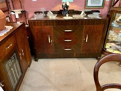 1940's Art Deco Sideboard Beautiful Condition
