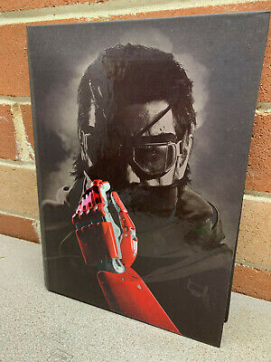 Metal Gear Solid V Collector's Edition Hard Cover Official Game Guide Book