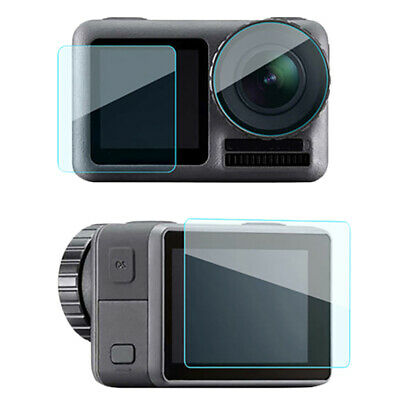For Dji Osmo Action Sport Camera Tempered Glass Screen Protector Lens Scrat N6V8