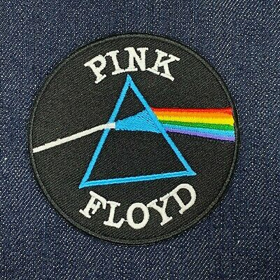 Pink Floyd Rock Band Music Iron On Embroidered Patch