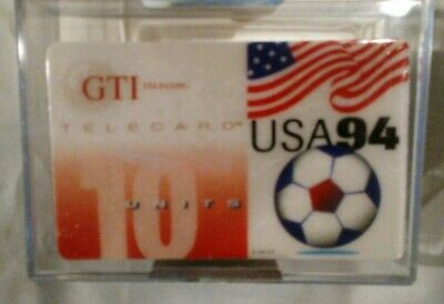 GTI Prepaid Phone Cards 1994 World Soccer Collector Box Set 25 Unopened/sealed