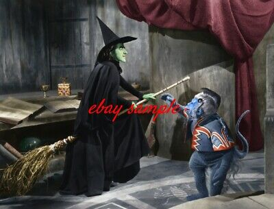 MARGARET HAMILTON COLOR MOVIE PHOTO / WICKED WITCH of the WEST -THE WIZARD OF OZ