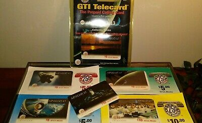 Prepaid Phone Cards Apollo 13 Complete Collection Sealed