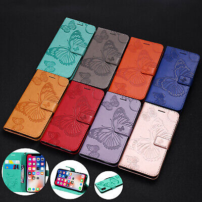 For iPhone 8 7 6S Plus XS Max XR Case Flip Leather Card Slot Wallet Stand Cover