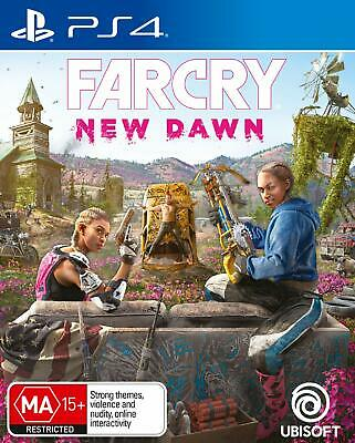 Far Cry New Dawn PS4 Playstation 4 Brand New Sealed FREE DELIVERY