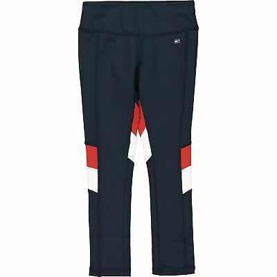 TOMMY HILFIGER Girls' BEKKI Sports Capsule Leggings, Navy Blue, sizes 6 to 16 y.