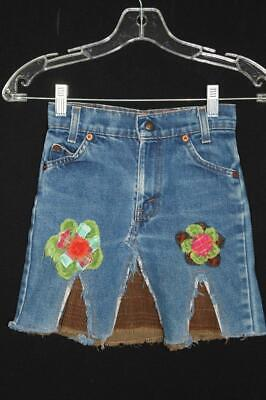 Firefly Vintage Levi Decorated Girl's Skirt Size 6