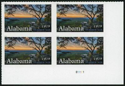 USA Forever Alabama Block of 4 Stamps Mint NH