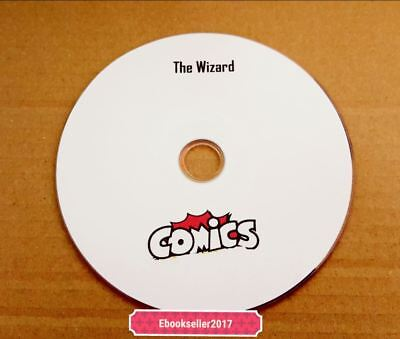 ebooks, The Wizard Comic 210 Issues in (CDisplay included) on disc to read on PC