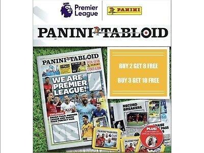 Panini Tabloid Sticker Collection - Single Stickers