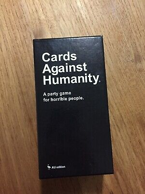 Cards Against Humanity Au Edition Used Very Good Condition