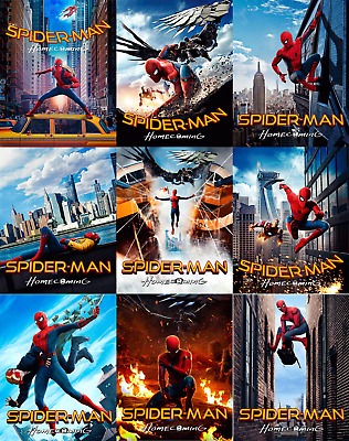 Magnet cover for steelbook Spiderman homecomig Blu-ray