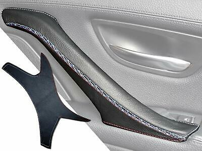 BMW 5 Series F10 F11 F18 M5 Door Handle Cover Leather Black (RIGHT, M5 Sport)