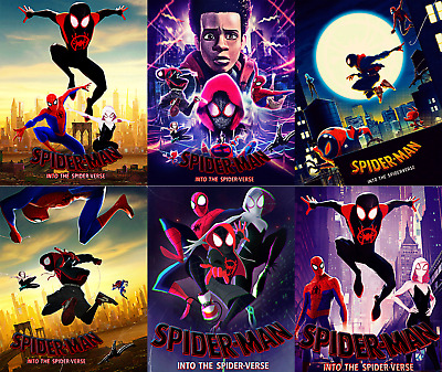 Magnet cover for steelbook Spiderman Into the spider-verse Blu-ray