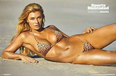 SAMANTHA HOOPES - SPORTS ILLUSTRATED SWIMSUIT POSTER 22x34 - 2018 SEXY 17651