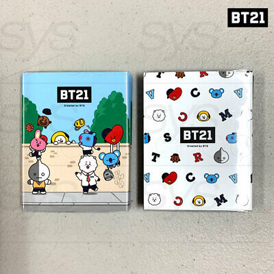 BTS BT21 Official Authentic Goods Sticky Memo Ver2 2SET By Kumhong + Tracking#