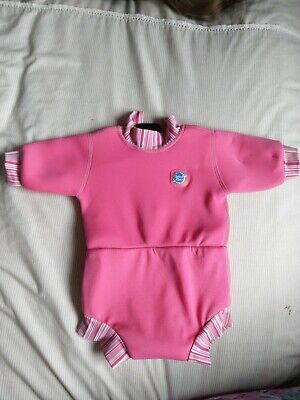 Splash About Happy Nappy Wetsuit - Pink