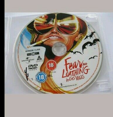 FEAR AND LOATHING IN LAS VEGAS starring Johnny Depp,  {DVD} disc only