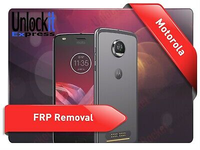 Remote MOTO Motorola FRP Google Account Lock Remove INSTANT (5-10 MIN)