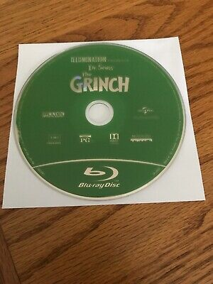 Illumination Presents Dr. Seuss' The Grinch (Blu-ray disc only, 2019)