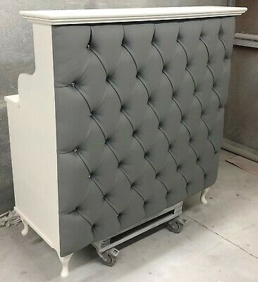 Reception Desk with padded front other colours available