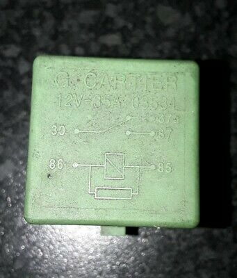 Peugeoot 206 G Carter 35A Relay 03531