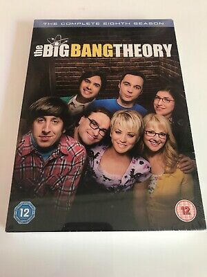 The Big Bang Theory – Season 8 [DVD] [2015], 5051892189903 New Sealed