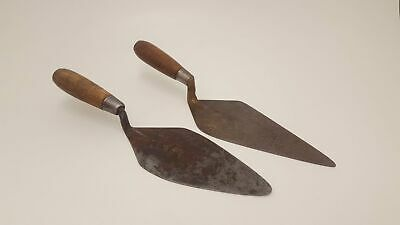 Pair of Vintage Brick Layers Trowels 1 by G Walby London 15817