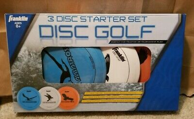 Franklin Disc Golf 3-Disc Pro Set - 160G Driver, 160G Mid-Range & 167G Putter **