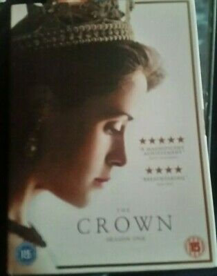 The Crown Season 1 DVD  and the film The Queen. Both In very very good condition