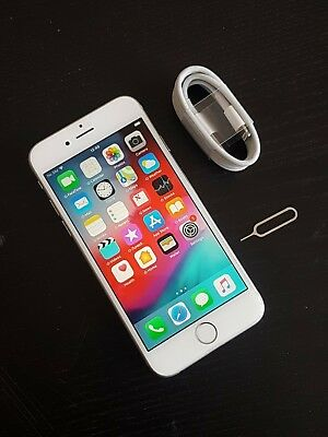 Apple iPhone 6s - 128GB - Silver (Unlocked) Fully working **Mint Condition**