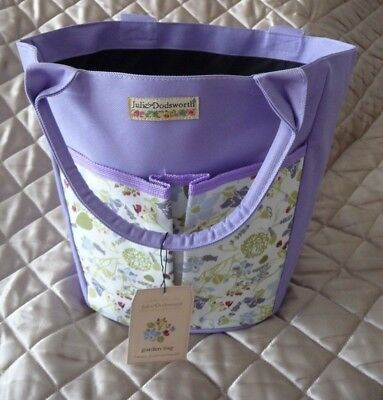 Julie Dodsworth Garden Bag Lavender Floral Briers Julie Dodsworth's Lavender Bag