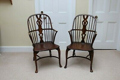 Pair of Antique Windsor Chairs